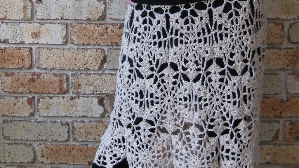 Doris Chan River Song Skirt from Crochet Lace Innovations